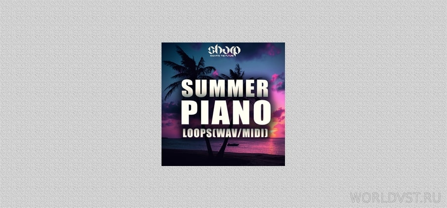 100 Free Piano Loops Released By SHARP (WAV + MIDI)