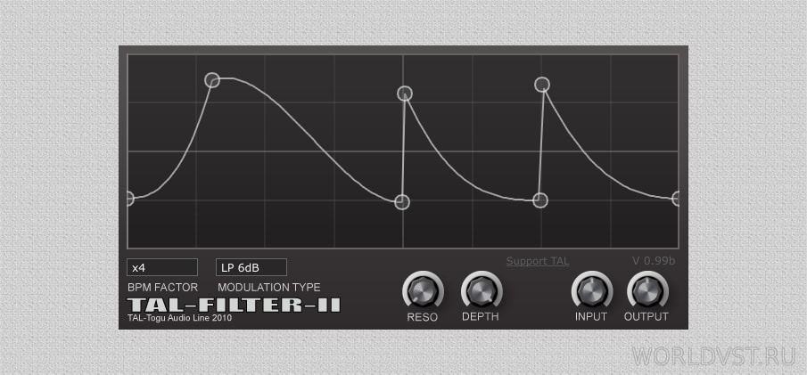 Togu Audio Line - Filter-2 [WiN.OSX] [x86 x64] [Free] :: Бесплатный Фильтр