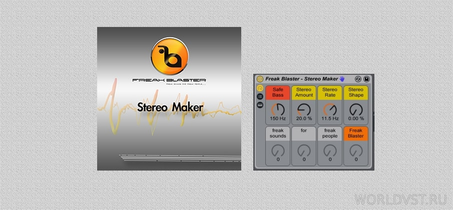 Freak Blaster - Stereo Maker for Ableton Live [Free] :: Бесплатный Ableton Rack