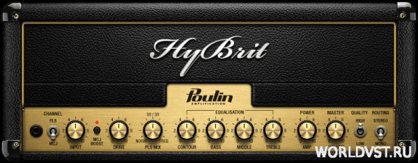 Poulin HyBrit Series Head