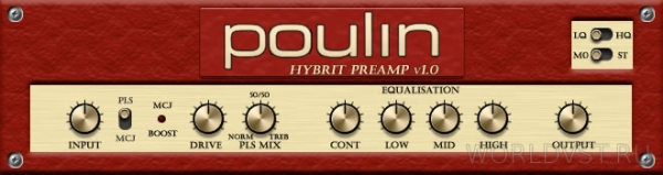 Poulin HyBrit Series Preamp