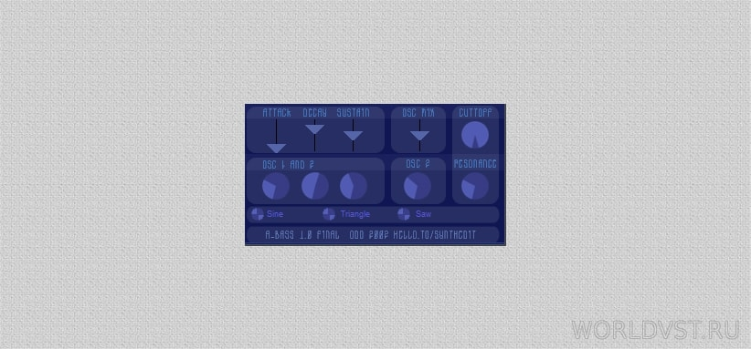 Odo Synths - A-BASS [WiN] [x86] [Free]