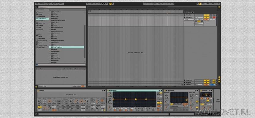 Ableton live dark skin by Ja.Ne. ...