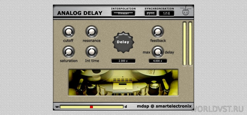 AnalogDelay x86 [WiN.MAC] - Дилэй