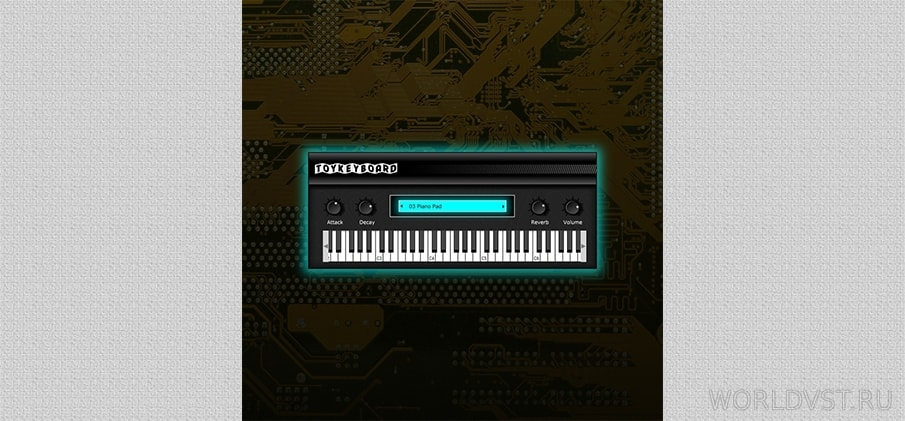 Toy Keyboard [WiN.MAC] - Free plugin instrument