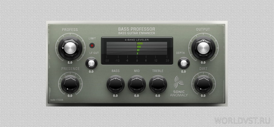 Sonic Anomaly - Bass professor [WiN x64 x86] [MAC only Reaper] [Free] :: Бесплатный сатуратор