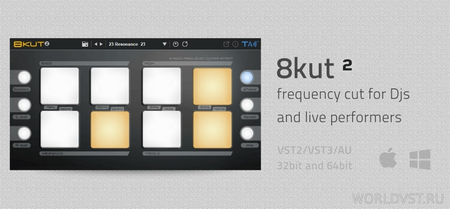 Tek'it Audio - 8kut [WiN.OSX] [x86 x64] [Free]