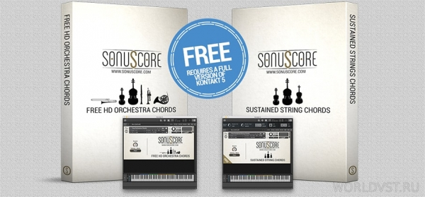 Sonuscore - Free Sustained String Chords for NI K...