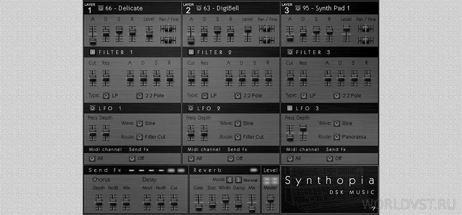 DSK - Synthopia [WiN x86] [Free]