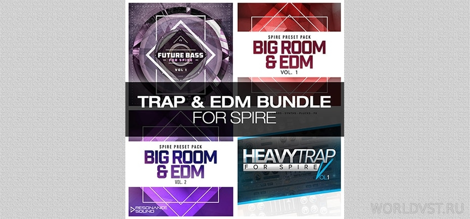Resonance Sound - Trap & EDM Bundle for Spire [Demo Pack] [Free]