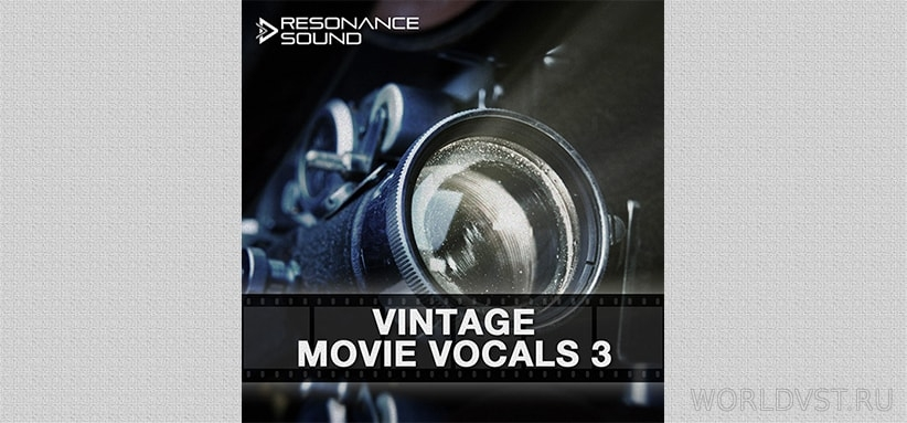 Resonance Sound - Vintage Movie Vocals 3 [Demo Pack] [Free]