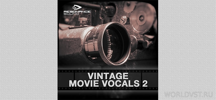 Resonance Sound - Vintage Movie Vocals 2 [Demo Pack] [Free]