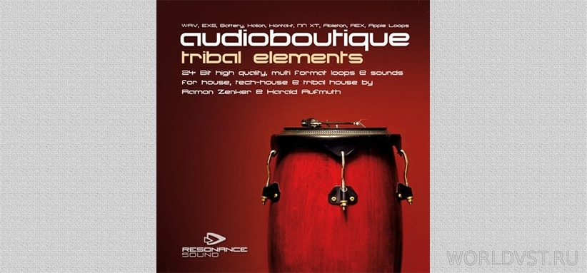 Resonance Sound (by Audio Boutique) – Tribal Elements Vol.1 [Demo Pack] [Free]