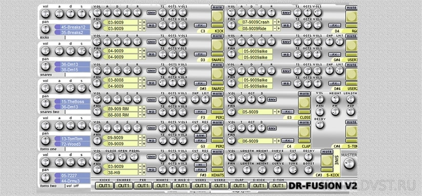 Odo Synths - DR-Fusion 1 & 2 [WiN] [x86] [Free]