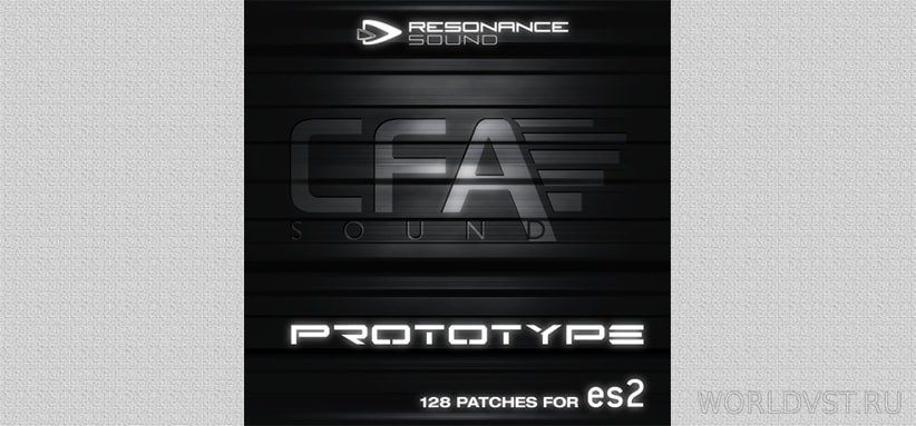 Resonance Sound (by CFA-Sound) - Prototype ES2 for ES2 [Demo Pack] [Free]
