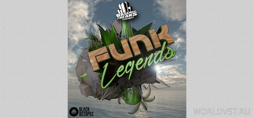 Resonance Sound (Black Octopus Sound) - Basement Freaks Funk Legends [Demo Pack] [Free]