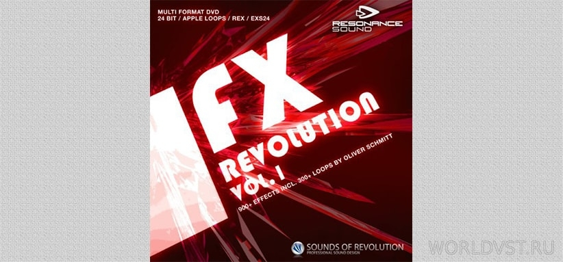 Resonance Sound (by SOR) - FX Revolution Vol.1 [Demo Pack] [Free]