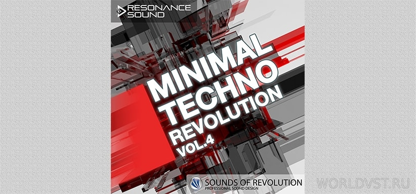 Resonance Sound (by SOR) – Minimal Techno Revolution Vol.4 [Demo Pack] [Free]