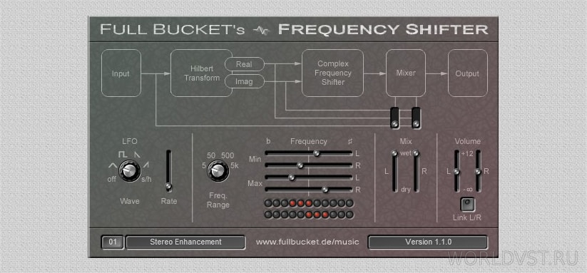 Full Bucket Music - Frequency Shifter [WiN.OSX] [x86 x64] [Free]