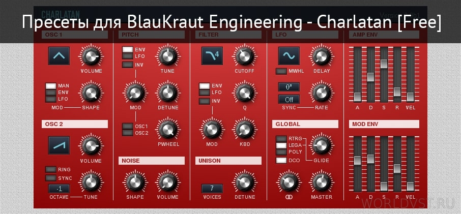 Пресеты для BlauKraut Engineering - Charlatan [Free]