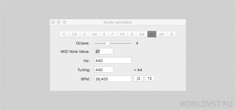 Luke Zeitlin - Music Calculator [OSX] [Free]