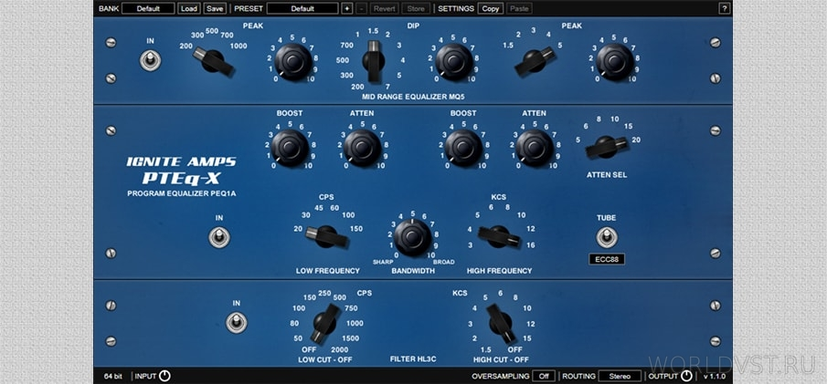 PTEq-X Equalizer - [WiN.MAC] - Эк...