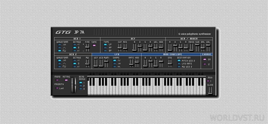 GTG Synths - GTG JP 7A [WiN] [x86] [Free]