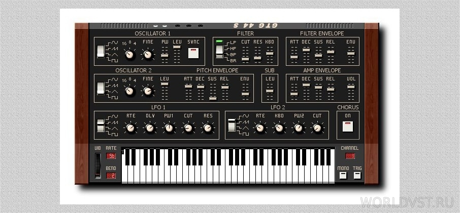 GTG Synths - GTG 44 S [WiN] [x86] [Free]