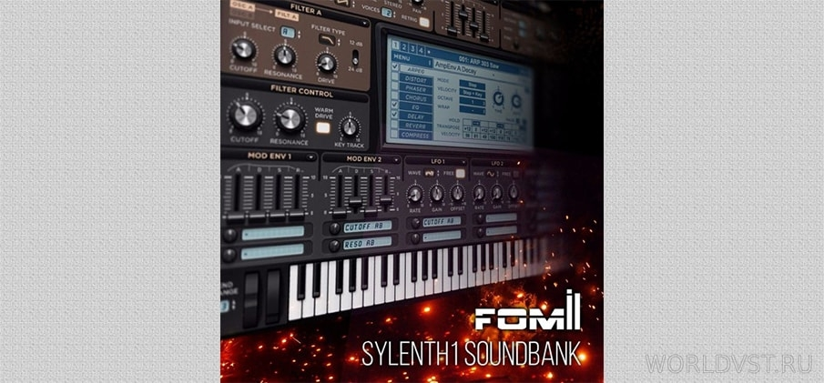 Fomil - Sounds for Sylenth1 [FXB] - Пресеты для Sylenth1
